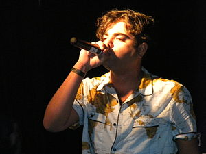 Das Racist - Heems on stage in Atlanta, GA, 2011.