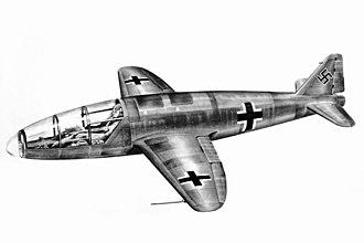 Heinkel He 176 - He 176V2, the unbuilt later version