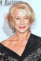 Photo of Helen Mirren at the 2014 Moët British Independent Film Awards.