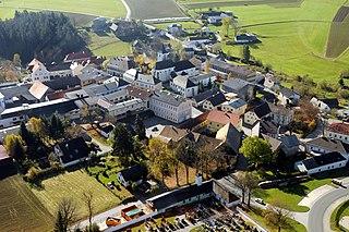 Martinsberg Place in Lower Austria, Austria