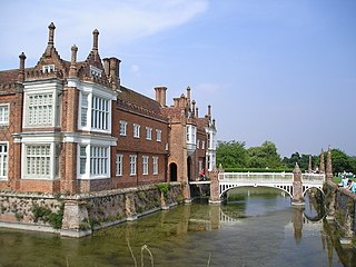 Helmingham Hall Grade I listed building in Mid Suffolk, United Kingdom
