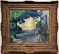 Henri edmond cross, paesaggio (giardini a saint tropez), 1900 ca.jpg