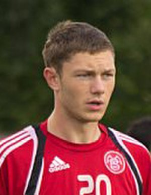 Henrik Dalsgaard - Dalsgaard while with AaB in 2011.