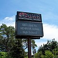 Henry Gunn High School billboard.jpg