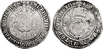 Shilling (English coin) - Henry VIII testoon