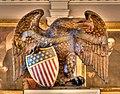 Heraldic eagle, Faneuil Hall, Boston.jpg
