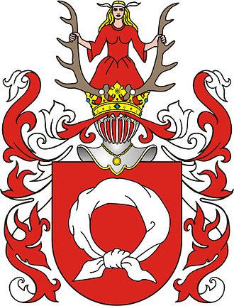 Edward Bernard Raczyński - Nalecz coat of arms