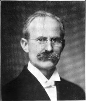North Pacific College - School founder Dr. Herbert Miller