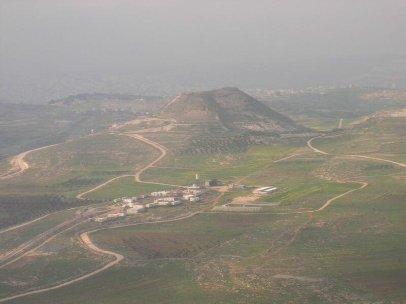 Herodum from south