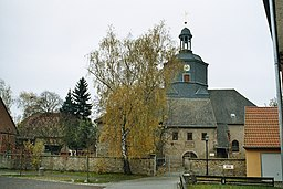 This is a picture of the Saxony-Anhalt Kulturdenkmal (cultural heritage monument) with the ID