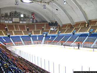 Sports in Pennsylvania - Hersheypark Arena in Hershey, Pennsylvania, home to the Hershey Bears of the American Hockey League from 1936 to 2002