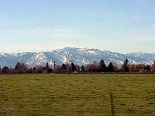 Albion Mountains mountain range in the US state of Idaho