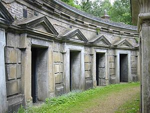 Highgate Cemetery - Circle of Lebanon, West Cemetery