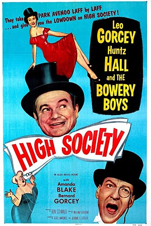 High Society (1955 film) - Theatrical release poster
