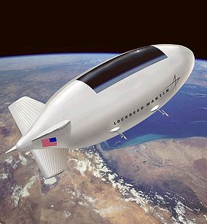 Geostationary balloon satellite - High-altitude airship satellite