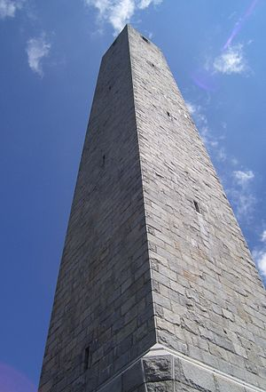 High Point (New Jersey) - High Point Monument, designed by Marion Sims Wyeth