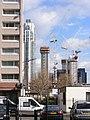 High rise construction London Docklands E14 - 32546837783.jpg