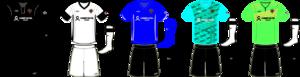 Victoria Highlanders - Highlanders kits, 2014–2015