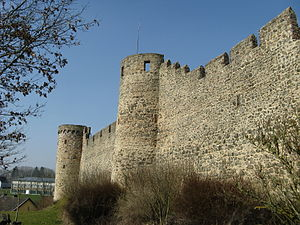 Hillesheim - The old city walls