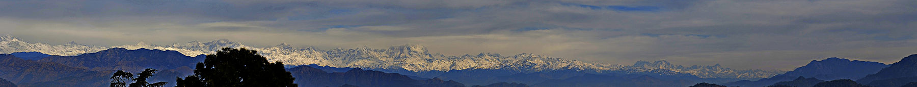 Himalaya Panorama From Pauri