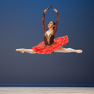 Variation (ballet) - Hinano Eto as Kitri in Don Quixote, Prix de Lausanne, 2010
