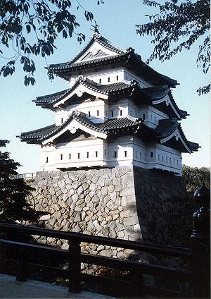 Hirosaki Domain - Hirosaki Castle, the seat of the Hirosaki Domain