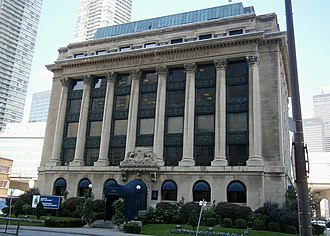 South Core, Toronto - Erected in 1917, the Toronto Harbour Commission Building is the home of PortsToronto, an agency responsible for the management of the Toronto Harbour.