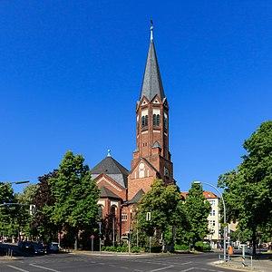 Halensee - Hochmeister Church