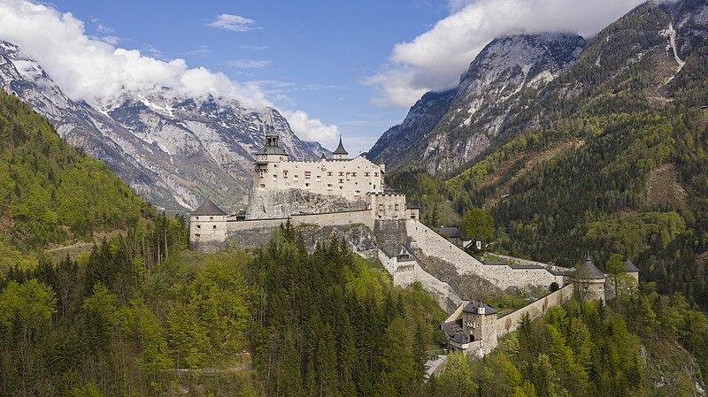 Hohenwerfen Castle in Austria