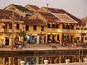 French Colonial - Image: Hoi An Old Quarter
