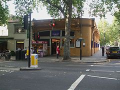 Holland Park stn building.JPG