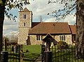 Holy Cross, the parish church of old Basildon - geograph.org.uk - 762302.jpg