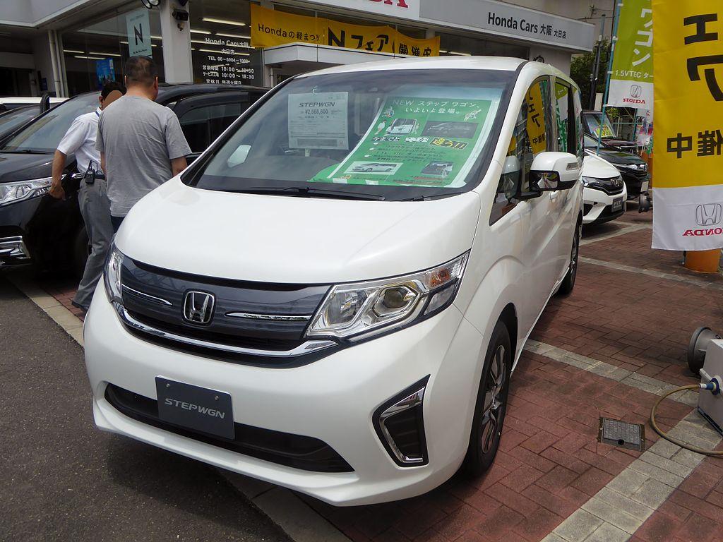 Honda STEPWGN G・EX (RP1) front