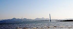 English: The Hong Kong-Shenzhen Western Corridor