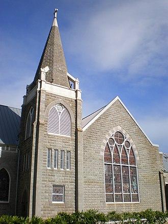 Sacred Heart Church-Punahou - Image: Honolulusacredheartc hurch