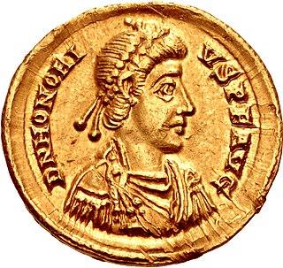 Honorius (emperor) Roman emperor from 393 to 423