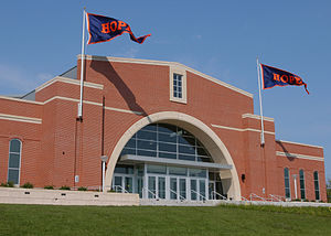 Hope College - DeVos Fieldhouse on the campus of Hope College