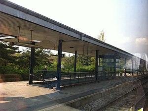 Fredericia-Aarhus Line - Horsens station in 2011