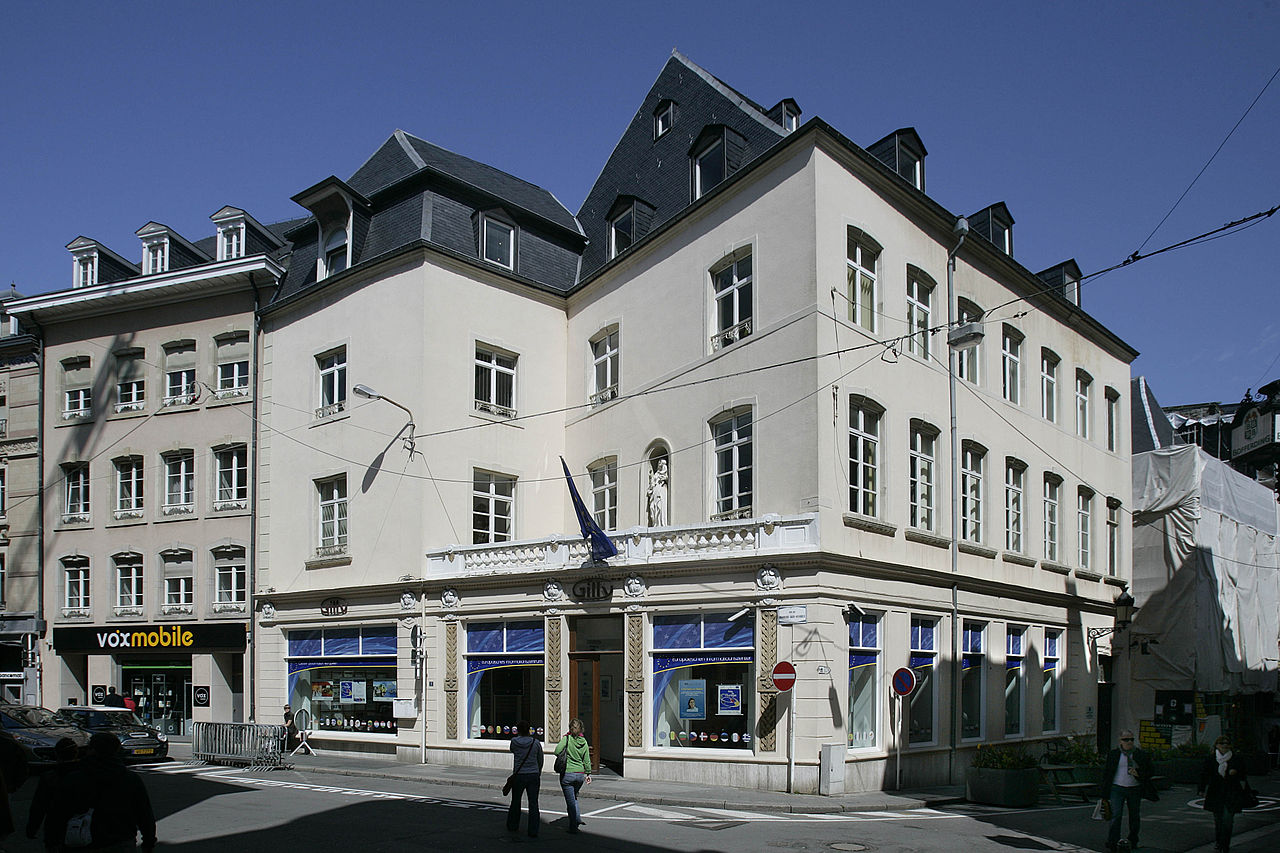 File House Of Europe Gilly Luxembourg Wikimedia