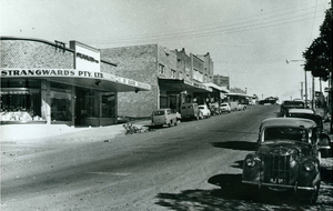 Padstow, New South Wales - Howard Road in 1955