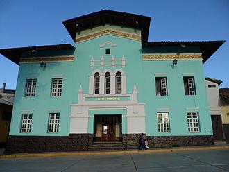 Huamachuco - Municipal Theatre, Huamachuco