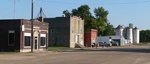 Hubbell, Nebraska - Downtown Hubbell