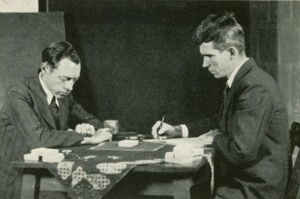 Joseph Banks Rhine - Hubert Pearce with Joseph Banks Rhine.