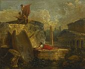 Hubert Robert Draughtsmen In a Landscape with Antique Ruins.jpg