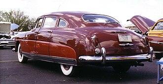 Hudson Commodore - 1950 Hudson Commodore 4-door sedan