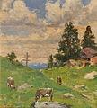 Hugo Engl - Almlandschaft mit Kühen.jpg