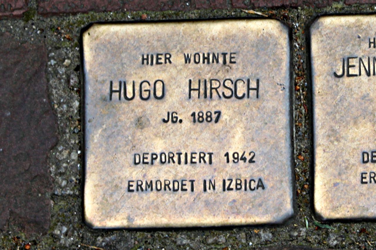 Stolperstein für Hugo Hirsch
