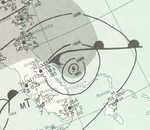 Hurricane Isbell analysis 15 Oct 1964.png