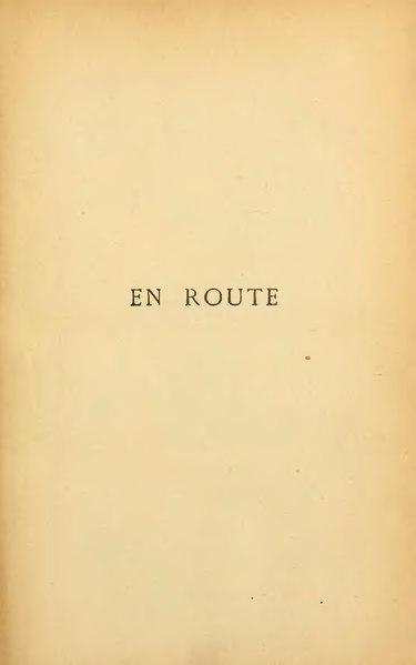 File:Huysmans - En route, Tresse & Stock, 1895.djvu