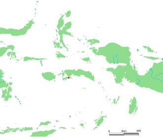 Haruku Island - Location of Haruku Island